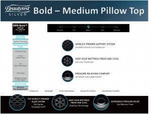 BR Bold Medium Pillow Top